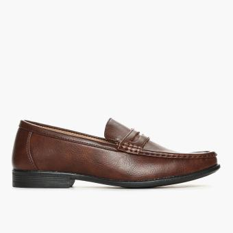 Milanos Mens Tank Loafers (Brown)