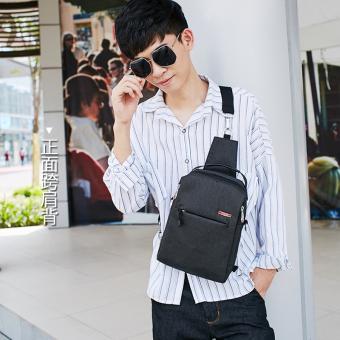 MingtekHan version of men's business shoulder bag backpack shoulder bag (Dark Grey)