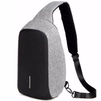 Mini Anti Theft Cross Body Bag (Grey)
