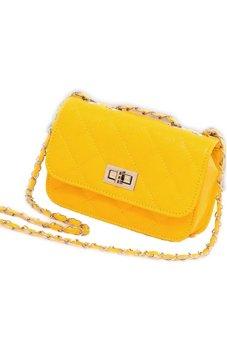 Mini Crossbody Bag (Yellow)