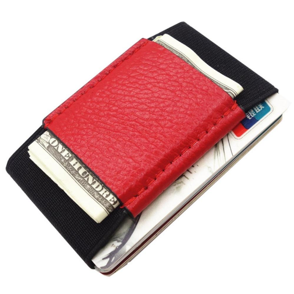 Philippines | Minimalist Slim Card Holder Wallet Elastic Magic ...