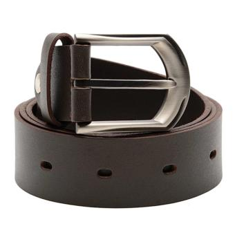Mj By Mcjim Basic Cara Leather Belt (Brown)