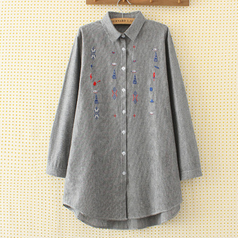 MM Plus-sized New style long-sleeved shirt