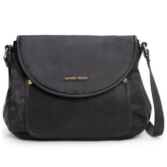 MNG Mango Nylon Crossbody Bag (Black) Price Philippines
