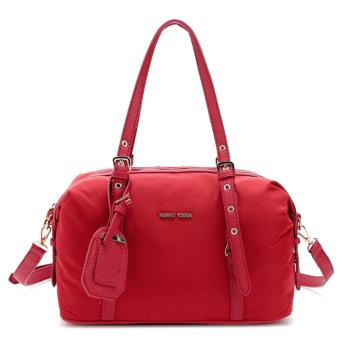 MNG Mango Tessuto Bowling Bag (Red) Price Philippines