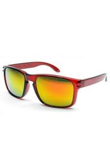 Moonar Retro Sunglasses Sports Riding Eyewear Maroon