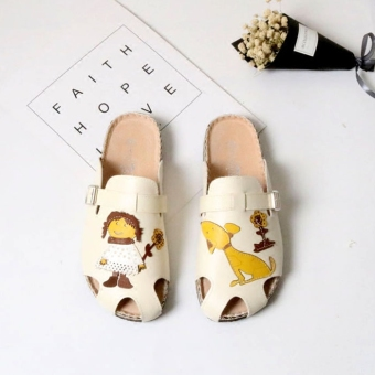 Mori girl series New style soft wood slippers