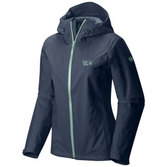 Mountain Hardwear Women's Finder Jacket with Dry.Q Core (Zinc)