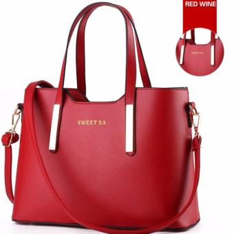 Ms tide restoring ancient ways shoulder bag(red)