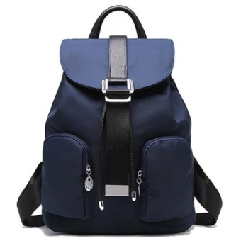 MU Fashion Women Backpack Casual School Bags For TeenagersgirlsFemale Travel Back Packs (Blue) - intl Price Philippines