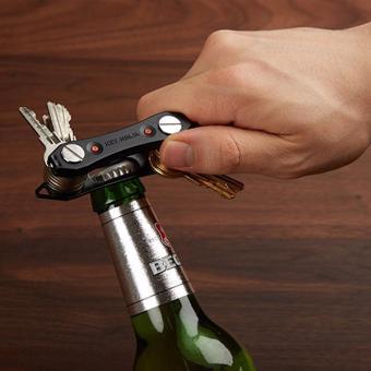 Multi Purpose Key Ninja Key Holder Dual Led Light Build in BottleOpener - 3
