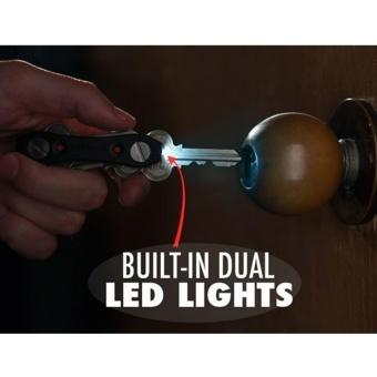 Multi Purpose Key Ninja Key Holder Dual Led Light Build in BottleOpener - 4