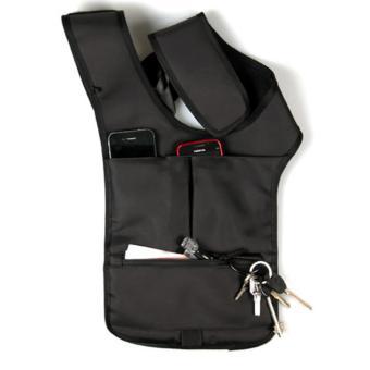 Multifunction Men's Anti-Theft Hidden Underarm Shoulder Bag Holster Black - 2