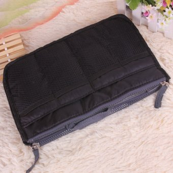 Multiple Compartment Picnic Travel Organizer Storage Bag (Black) - picture 2