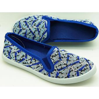 Muse Pam Slip-on Sneakers (Blue)