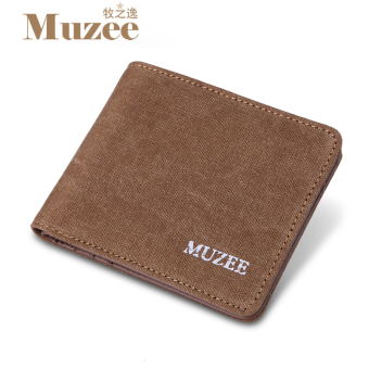 MUZEE casual Japanese and Korean style youth purse wallet