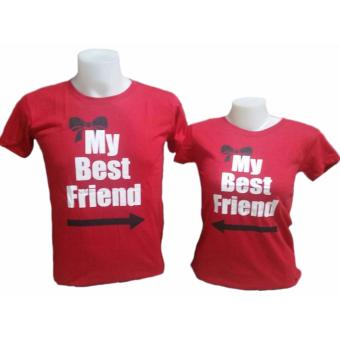 My Best Friend Couple T-Shirt (Red)