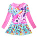 'My Little Pony 100-140cm Hight Girls'' Pure Cotton CartoonDresses(Color:Rose Red Pony)' Price Philippines