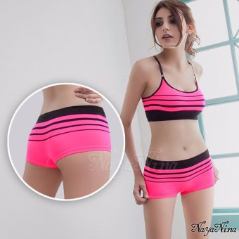 Naya Nina Sports Clothing Sports Underwears Activewear Sport Hipsters Panties Stripes Pink Price Philippines