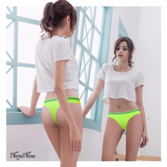 Naya Nina Sports Clothing Sports Underwears Activewear Sport Panties Low waist Thong Flourescent Green Price Philippines