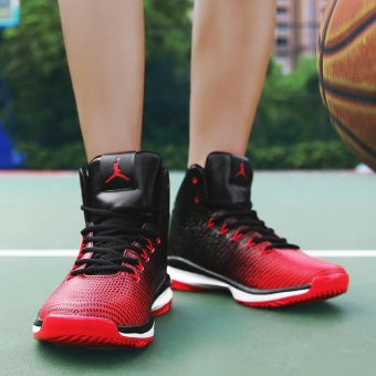 New Arrival Mens Basketball Shoes Breathable Outdoor Waterproof Sneakers for Men - intl - 3