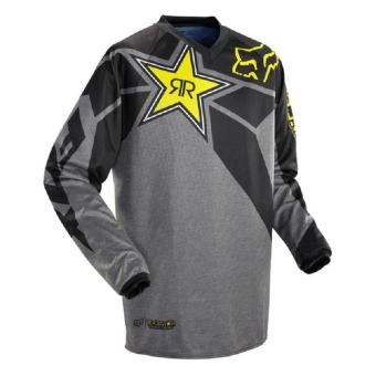 New Arrival Rock Star Moto Jersey MX MTB Off Road Mountain Bike DH Bicycle Jersey DH BMX Motocross jersey 3 styles (Brown) - intl