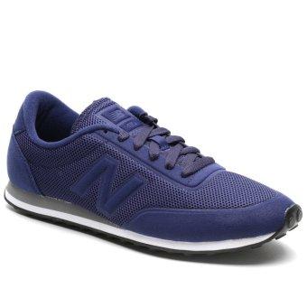 new balance blue. new balance u410nscd tier 3 lifestyle running shoes (navy blue) blue