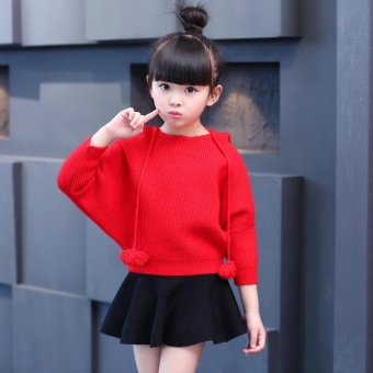 New Children 's Wear Sets of Korean Version of the Cloak - StyleBat Shirt Sweater Jacket - intl