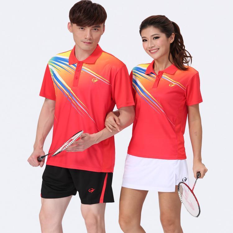 ... New Couple Badminton Jerseys , Men and Women's Badminton Shirts,Badminton Sportswear , BadmintonTennis T ...