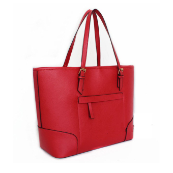 New Mango Zip Tote Bag ( Red ) Price Philippines