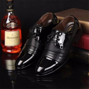 New Men's Dress Formal Oxfords Leather shoes Business Casual Shoes - 4