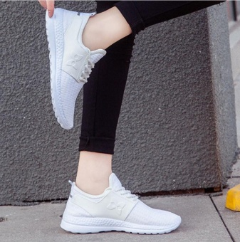 New sports shoes for girls in spring (White) - intl