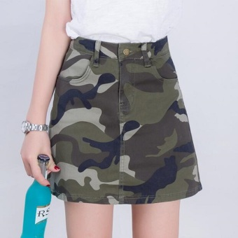 New style Anti-high-waisted cowboy skirt