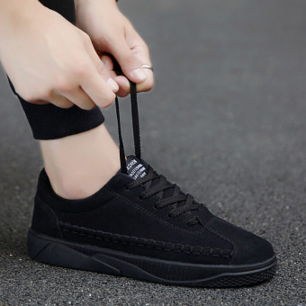 New style autumn men shoes (DD-0012 black)