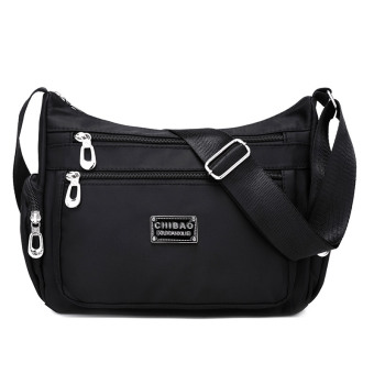 New style cloth bag waterproof nylon bag (Black) (Black)