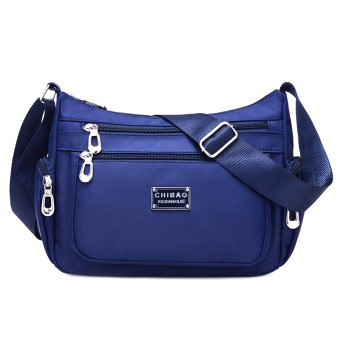 New style cloth bag waterproof nylon bag (Dark blue color) (Dark blue color)