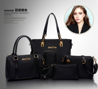 New style diagonal bag different size bags (Oxford Cloth Black six month package)