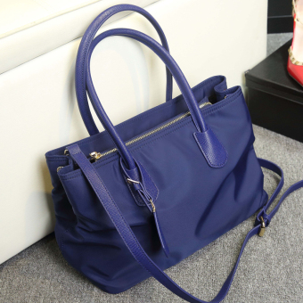 New style female handbag bag (Blue)