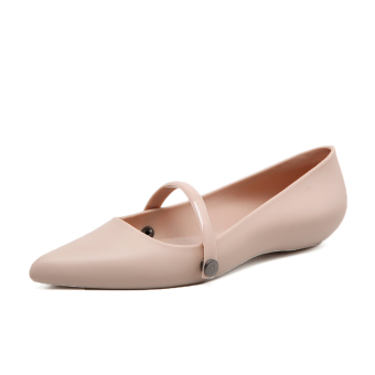 New style Flat pointed gel shoes (Lotus color)