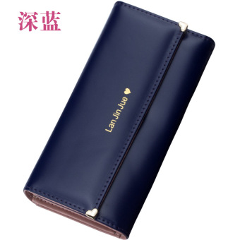 New style Japanese and Korean style long women's wallet (Shen Lan)