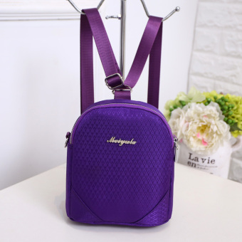New style nylon shoulder bag (Purple)