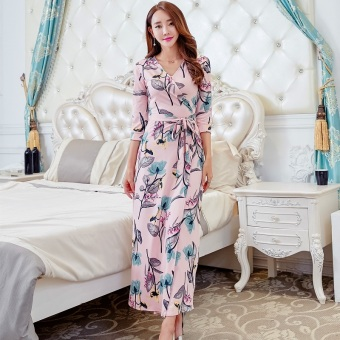 New style Slim fit Slimming effect bohemian dress Dress