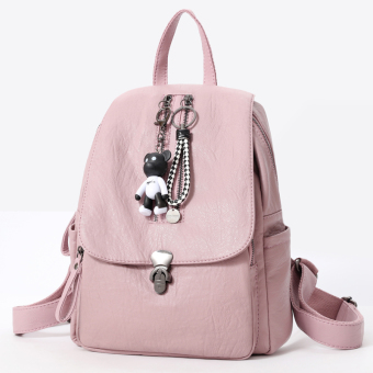 New style women's shoulder bag (Pink)