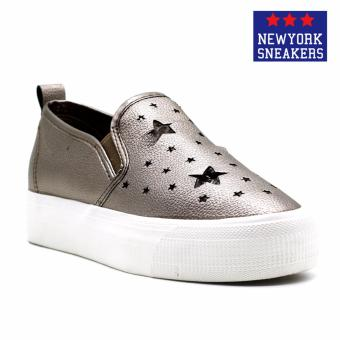 New York Sneaekers Fragapane Slip On Shoes(BRONZE)