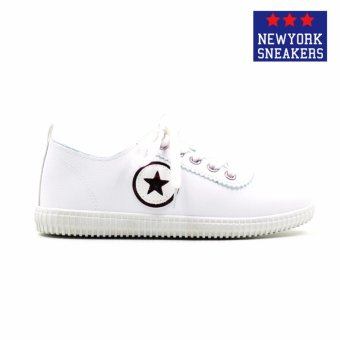 New York Sneakers Aeryn Low Cut Shoes(WHITE/PINK) - 2