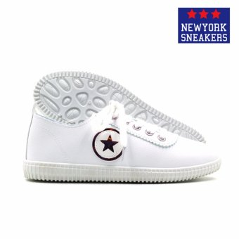 New York Sneakers Aeryn Low Cut Shoes(WHITE/PINK) - 3