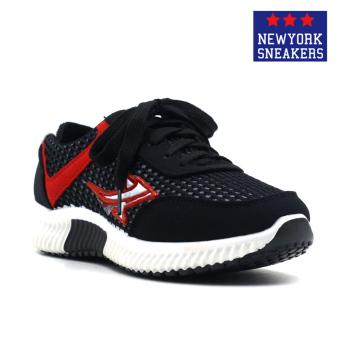 New York Sneakers Aggye Rubber Shoes(BLACK)