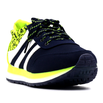 New York Sneakers Aina Low Cut Shoes (Navy/Green) Price Philippines