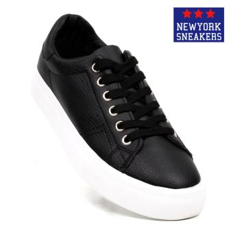 New York Sneakers Akate Low Cut Shoes(BLACK)