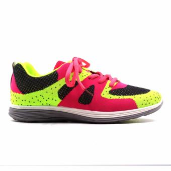 New York Sneakers AL155 Rubber Shoes(GREEN,PINK,GREY) - 2